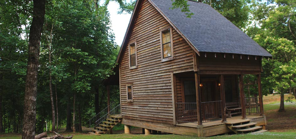 Rustic Cabins with Amenities